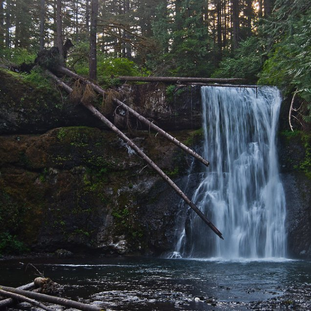 Upper North Falls, North Fork, Silver Creek, Oregon