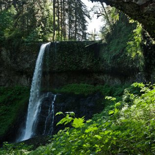 Middle North Falls - May 20, 2013, North Fork, Silver Creek, Silver Falls State Park, Oregon