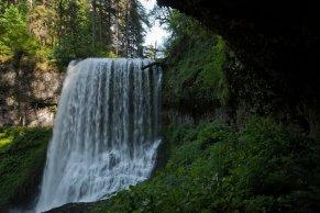 Middle North Falls - Jun 1, 2013, North Fork, Silver Creek, Silver Falls State Park, Oregon