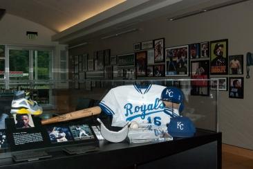 Bo Jackson's Royals uniform.