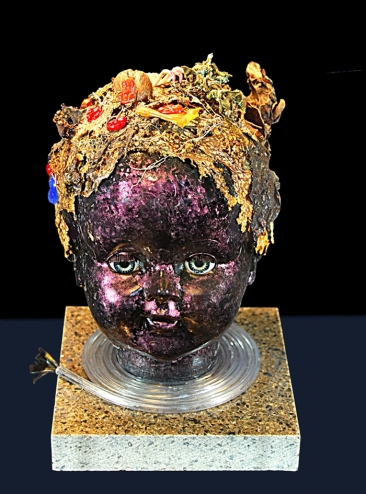 """Confusion"" by Suzy Mayer, Mixed Media, Sculpture"