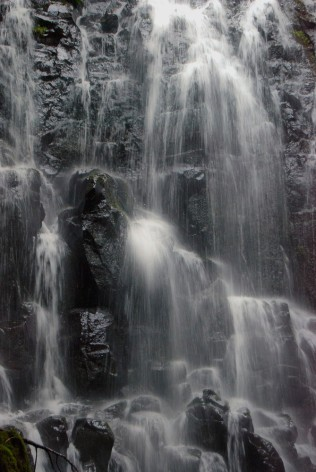 Vince Ferguson - Waterfall BW, Digital Image
