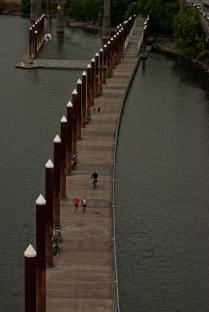 Vince Ferguson - Water Walkway over the Willamette River, Photograph