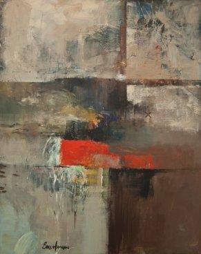 Earl Hamilton - Distant Horizon, Mixed Media