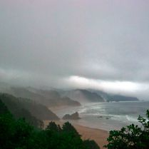 Vince Ferguson - Oregon Coast, Oswald West State Park, Digital Image