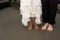 Vince Ferguson - Beach Wedding Feet - Digital Image