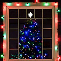 Vince Ferguson - Christmas Tree Window - Digital Image