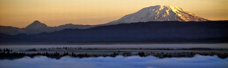 Vince Ferguson - Mount St. Helens Panoramic - Digital Image