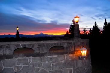 Vince Ferguson - Mt. Hood Sunrise, Jan. 6, 2014 - Digital Image