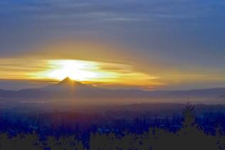 Vince Ferguson - Mount Hood Sunrise - Digital Image