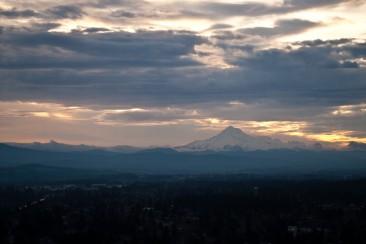 Vince Ferguson - 022614-Mount Hood Sunrise 2 - Digital Image
