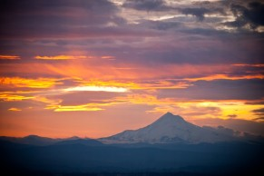 Vince Ferguson - 022614-Mount Hood Sunrise - Digital Image