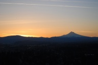 Vince Ferguson - 031214-Mount Hood Sunrise-1 - Digital Image