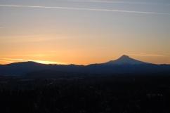 Vince Ferguson - 031214-Mount Hood Sunrise-1 - Digital Image