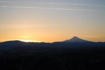 Vince Ferguson - 031214-Mount Hood Sunrise-2 - Digital Image