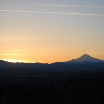 Vince Ferguson - 031214-Mount Hood Sunrise-2 - Digital Image