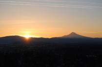 Vince Ferguson - 031214-Mount Hood Sunrise-3 - Digital Image