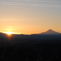 Vince Ferguson - 031214-Mount Hood Sunrise-3 - Digital Image