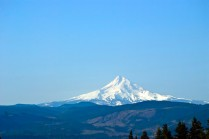 Vince Ferguson - Mount Hood from Catherine Creek - Digital Image