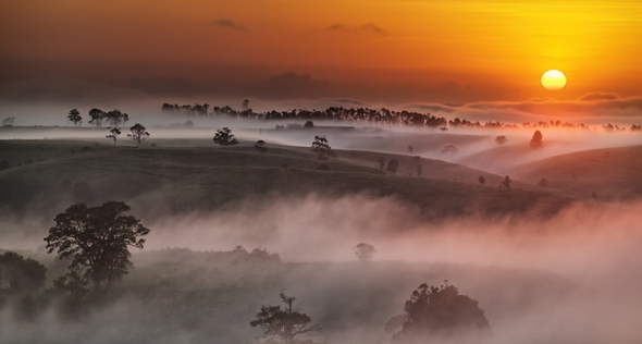"""Image Credit - """"Sunrise over the Tablelands"""" by aycee"""