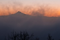 Vince Ferguson - Misty Mount Hood - Digital Image
