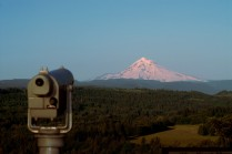 Vince Ferguson - Mount Hood Lookout - Digital Image