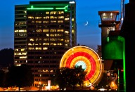 Vince Ferguson - Portland Ferris Wheel 03 - Digital Image