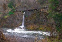 Vince Ferguson - Footbridge Falls - Digital Image