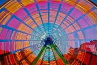 C. Vincent Ferguson - Ferris Wheel Lights 02 - Digital Image