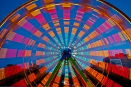 C. Vincent Ferguson - Ferris Wheel Lights - Digital Image