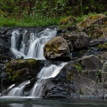 C. Vincent Ferguson - Washougal River Waterfall - Digital Image