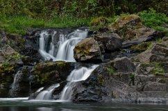 C. Vincent Ferguson - Washougal River Waterfall - Digital Image